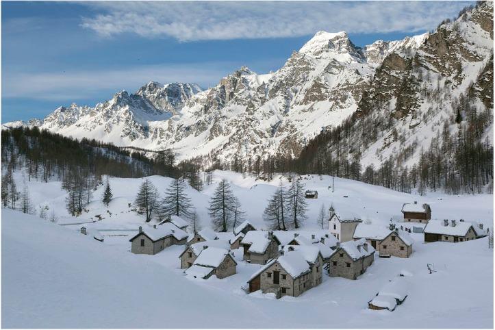 Alpe Crampiolo, un ambiente fiabesco....