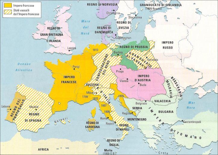 Europa nel 1812