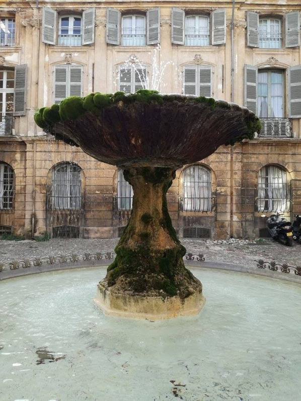 aix fontana barocca