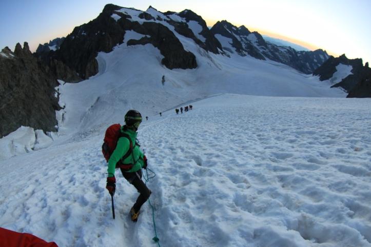Flavia_alpinismo_Ecrins_Dome des Ecrins