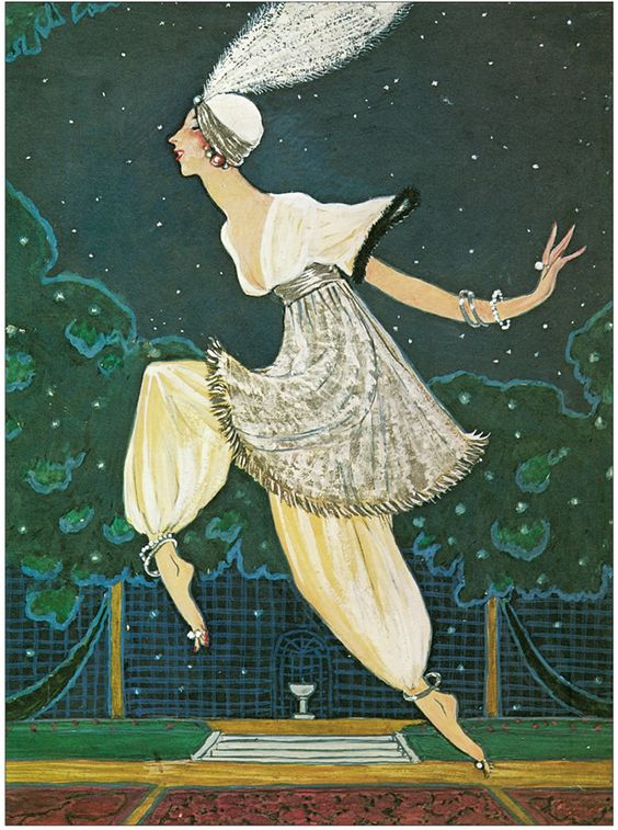 George-Le-Pape-Denise-Poiret-at-The-Thousand-and-Second-Night-Party-1911